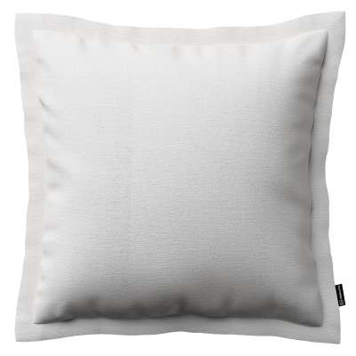 Mona cushion cover with border 392-04 white Collection Christmas
