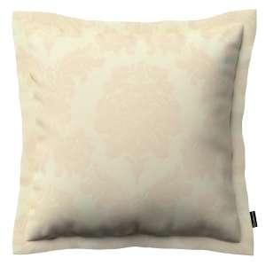 Mona dekoratyvinių pagalvėlių užvalkalas su sienele 45 x 45cm kolekcijoje Damasco, audinys: 613-01