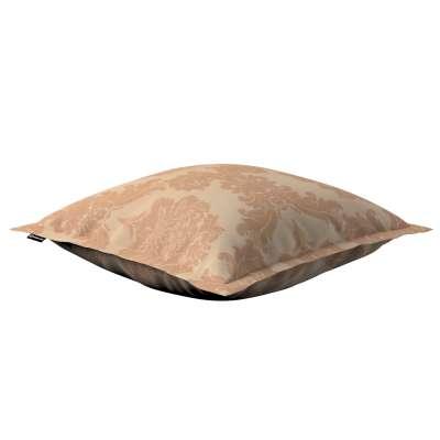 Poszewka Mona na poduszkę 613-04 jasno-brązowy Kolekcja Damasco