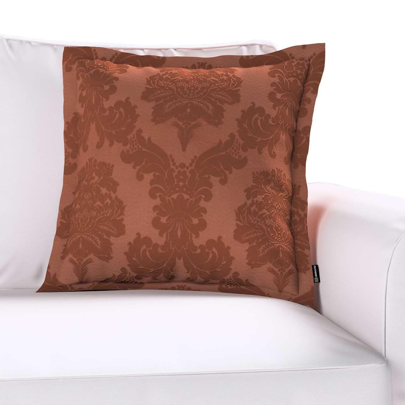 Poszewka Mona na poduszkę w kolekcji Damasco, tkanina: 613-88