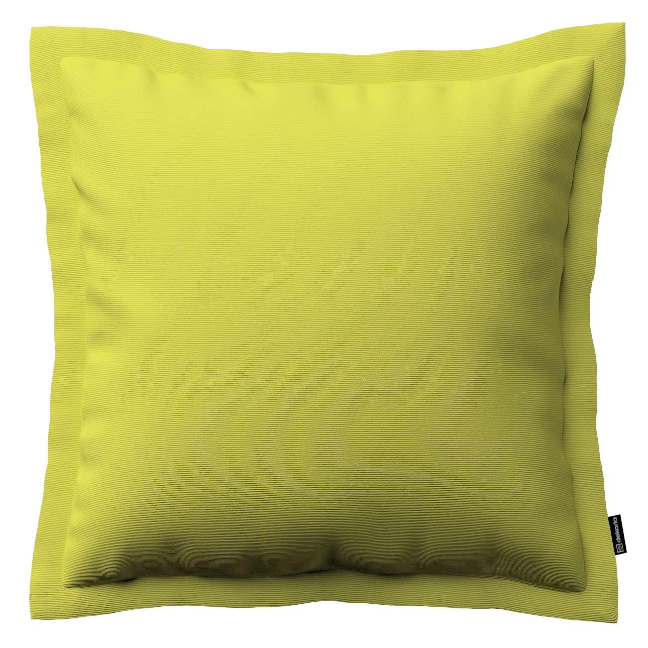 Mona dekoratyvinių pagalvėlių užvalkalas su sienele 45 x 45cm kolekcijoje Jupiter, audinys: 127-50