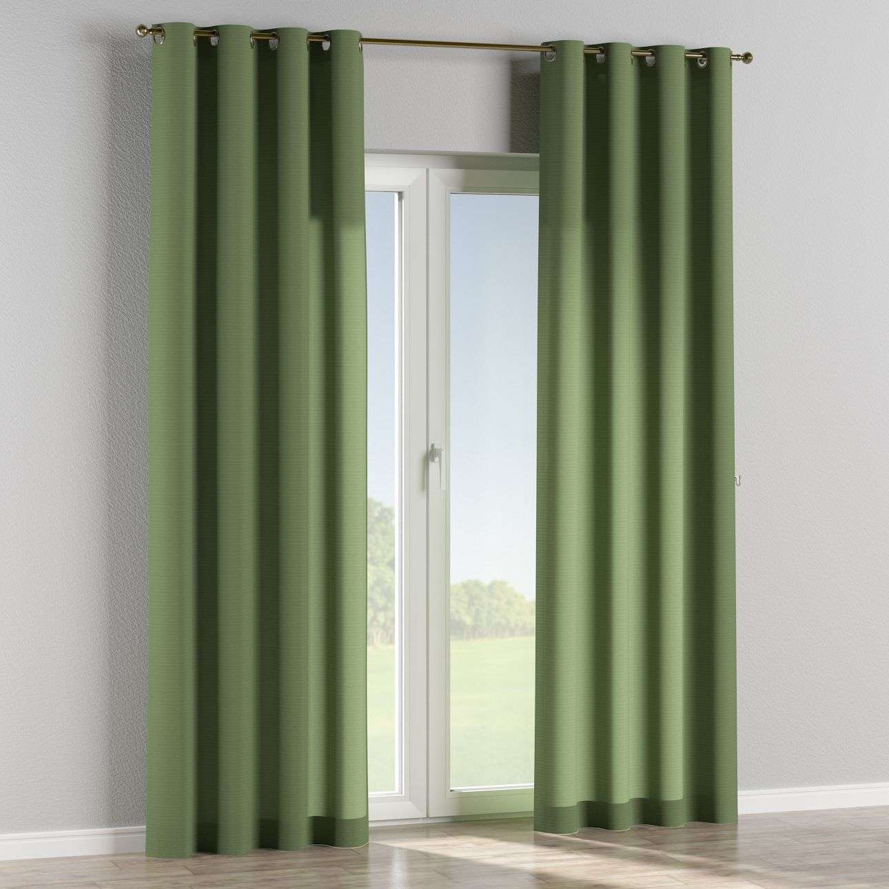 Eyelet curtains 130 × 260 cm (51 × 102 inch) in collection Jupiter, fabric: 127-52