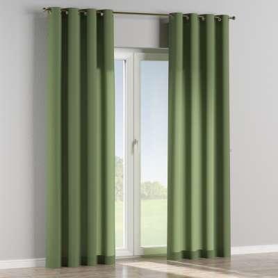 Eyelet curtain 127-52 green Collection Jupiter