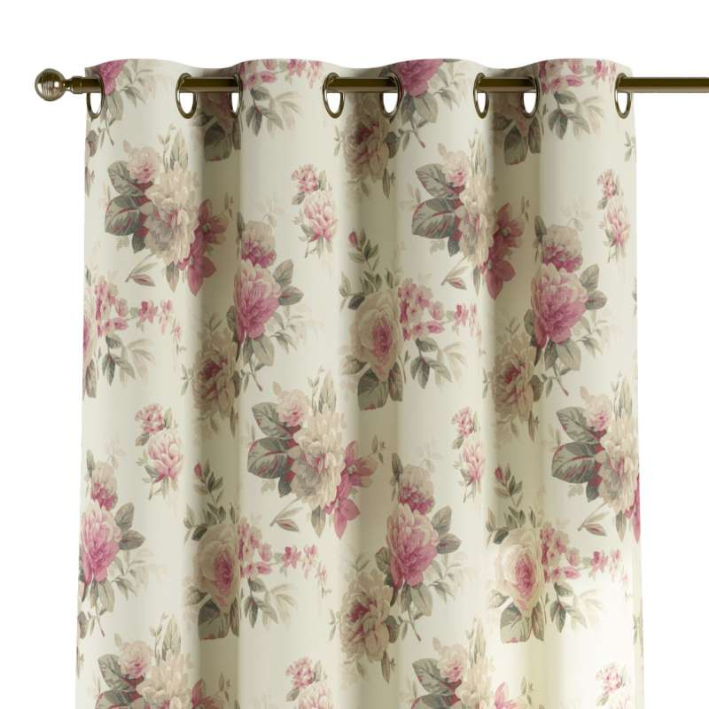 Eyelet curtain in collection Londres, fabric: 141-07