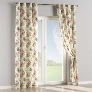 Eyelet curtains 130 x 260 cm (51 x 102 inch) in collection Mirella, fabric: 141-07