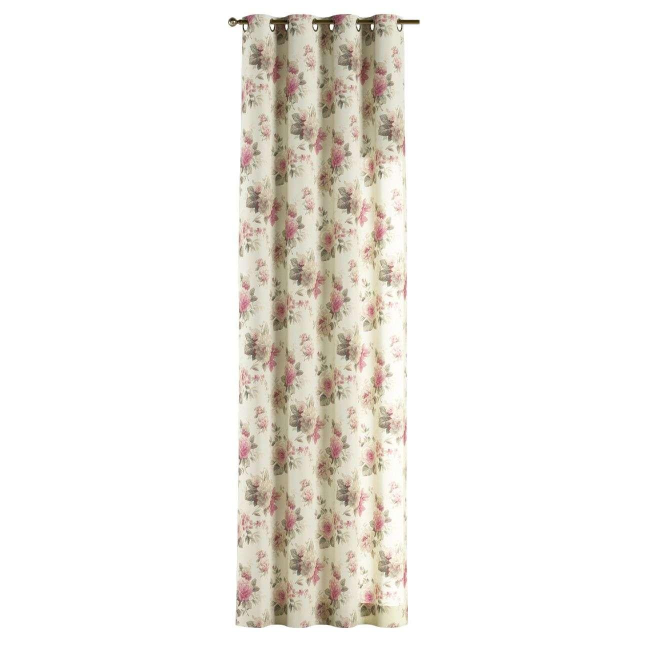Zasłona na kółkach 1 szt. 1szt 130x260 cm w kolekcji Mirella, tkanina: 141-07