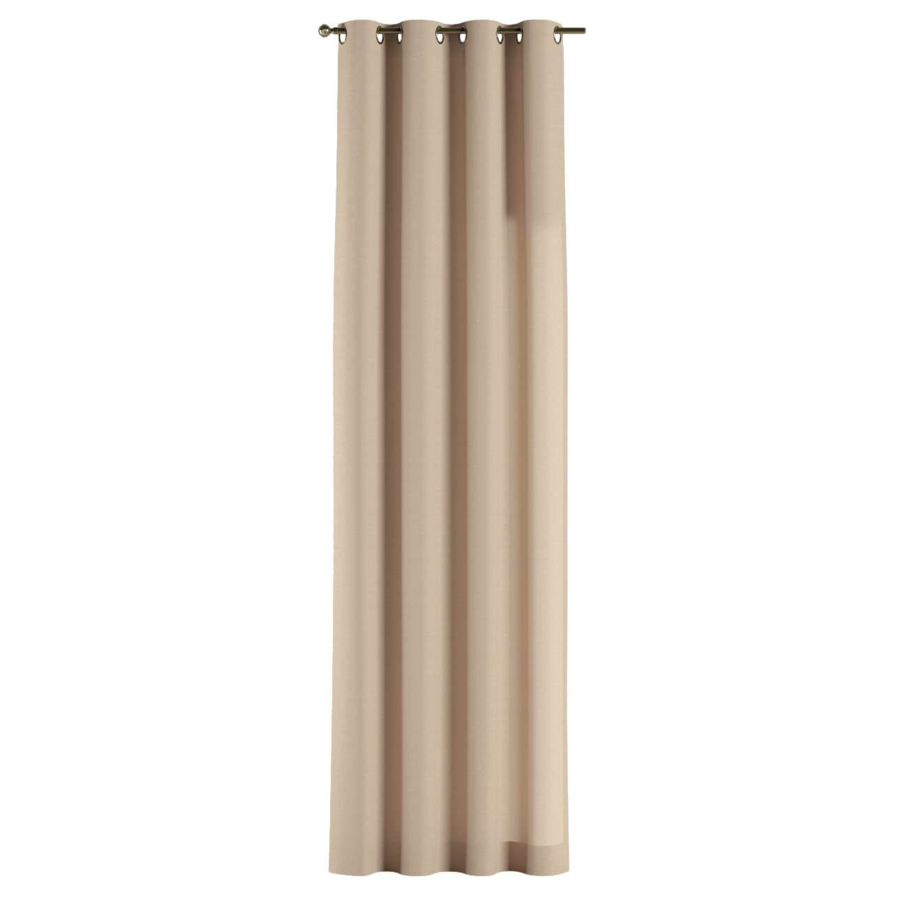 Gardin med maljer 1 stk. 130 x 260 cm fra kolleksjonen Cotton Panama, Stoffets bredde: 702-01