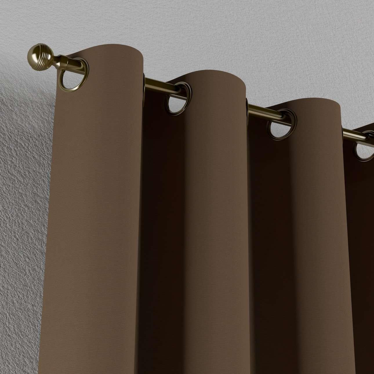 Zasłona na kółkach 1 szt. 1szt 130x260 cm w kolekcji Cotton Panama, tkanina: 702-02