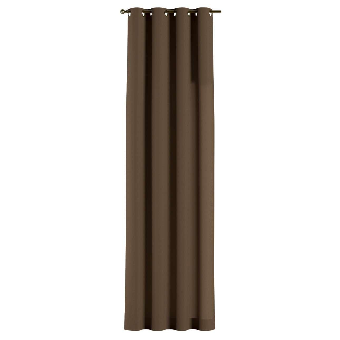Gardin med maljer 1 stk. 130 x 260 cm fra kolleksjonen Cotton Panama, Stoffets bredde: 702-02