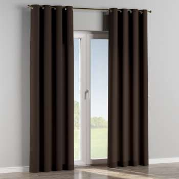 Eyelet curtains 130 x 260 cm (51 x 102 inch) in collection Cotton Panama, fabric: 702-03