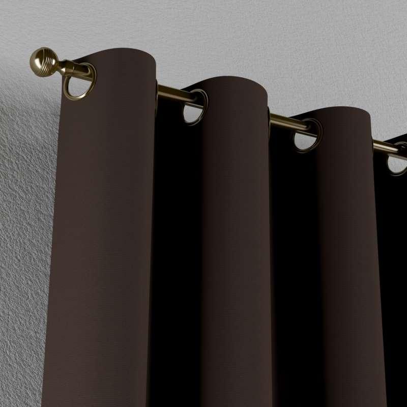Gardin med øskner 1 stk. fra kollektionen Cotton Panama, Stof: 702-03