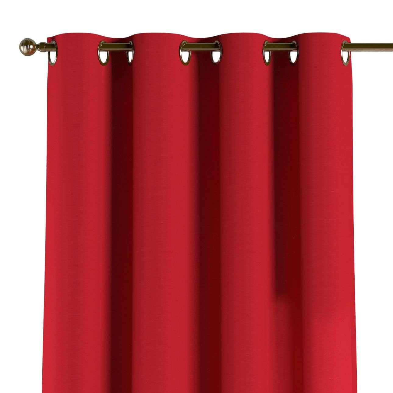 Žiedinio klostavimo užuolaidos 130 x 260 cm (plotis x ilgis) kolekcijoje Cotton Panama, audinys: 702-04