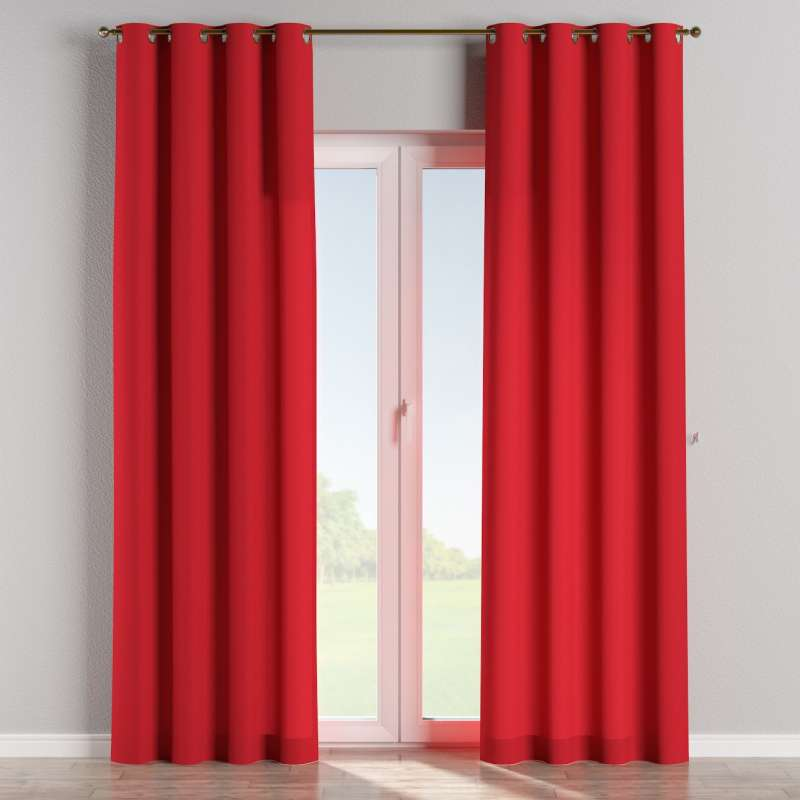 Eyelet curtain in collection Panama Cotton, fabric: 702-04