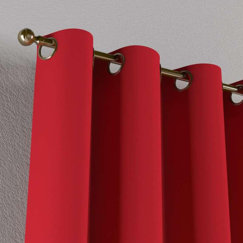 Gardin med öljetter 1 längd i kollektionen Panama Cotton, Tyg: 702-04