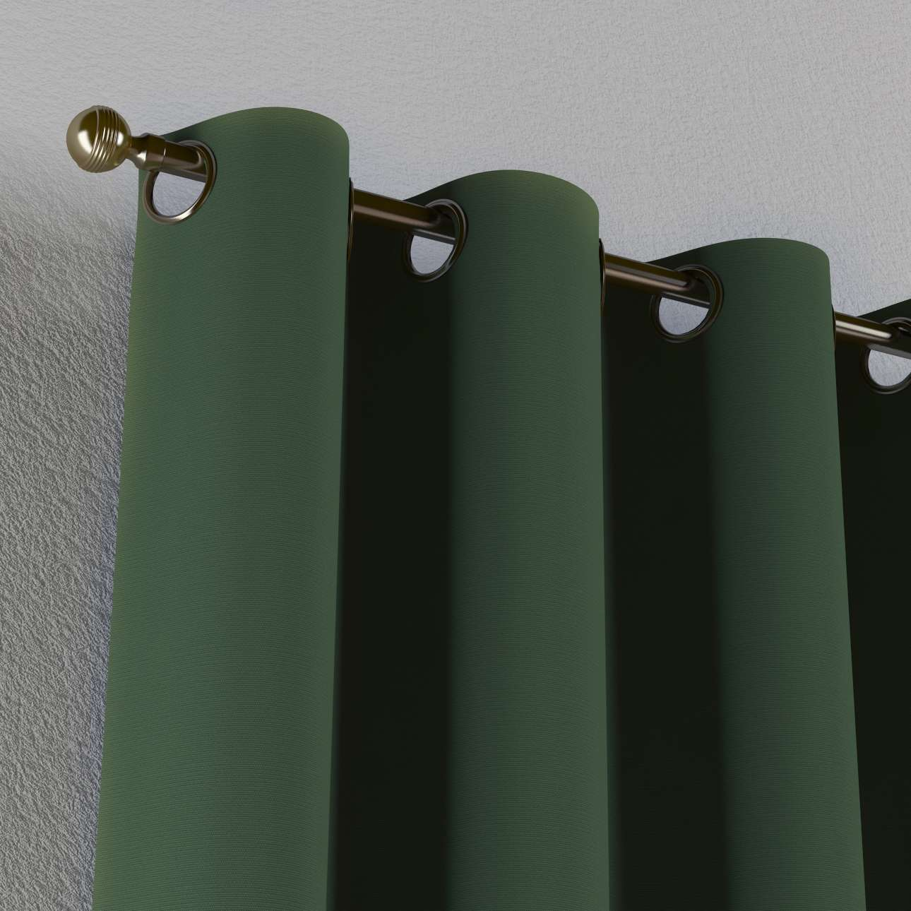 Žiedinio klostavimo užuolaidos 130 x 260 cm (plotis x ilgis) kolekcijoje Cotton Panama, audinys: 702-06
