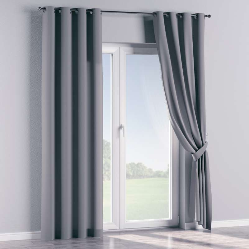 Eyelet curtain in collection Panama Cotton, fabric: 702-07
