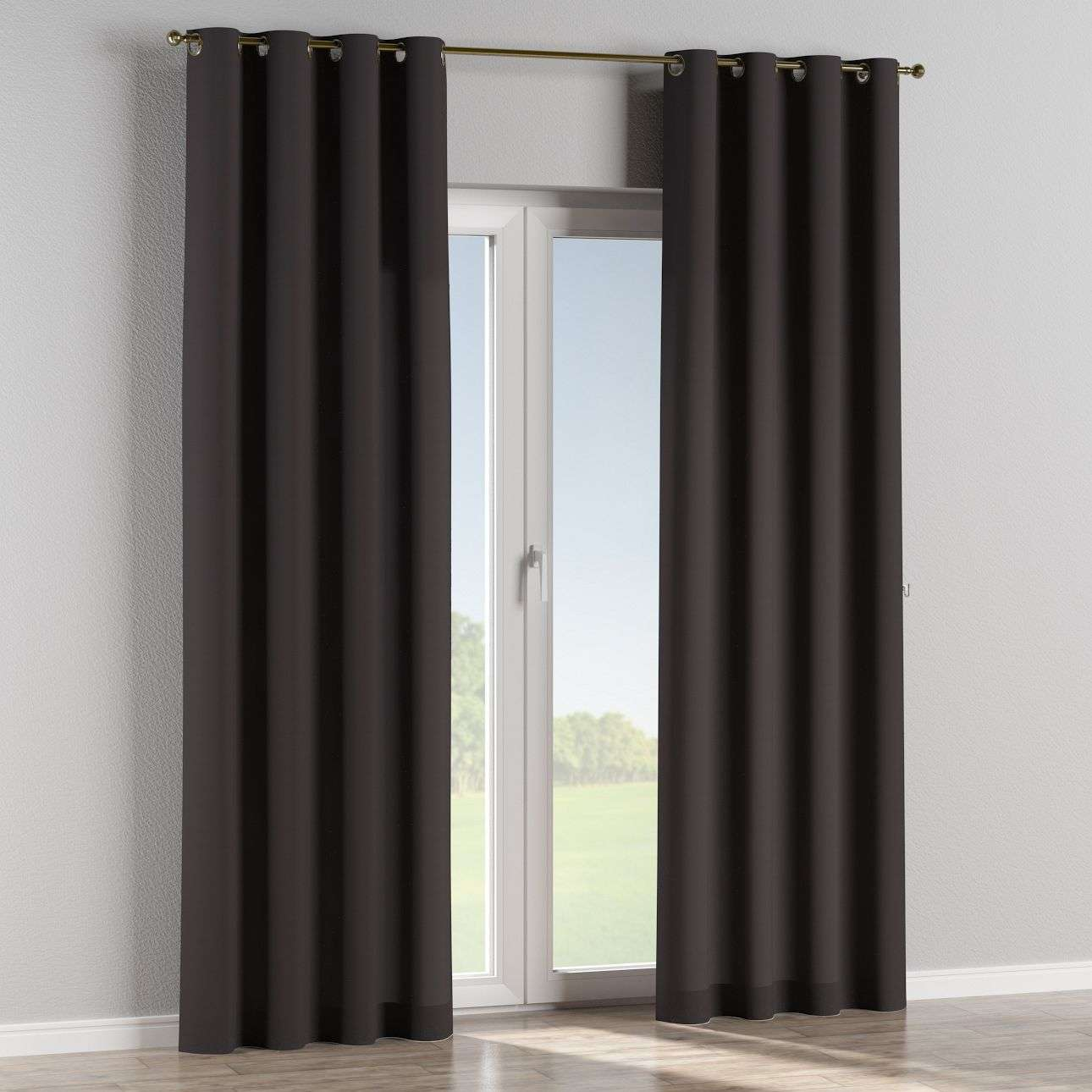 Eyelet curtains in collection Panama Cotton, fabric: 702-09