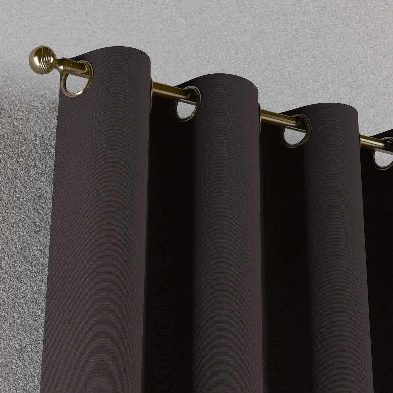 Žiedinio klostavimo užuolaidos 130 x 260 cm (plotis x ilgis) kolekcijoje Cotton Panama, audinys: 702-09