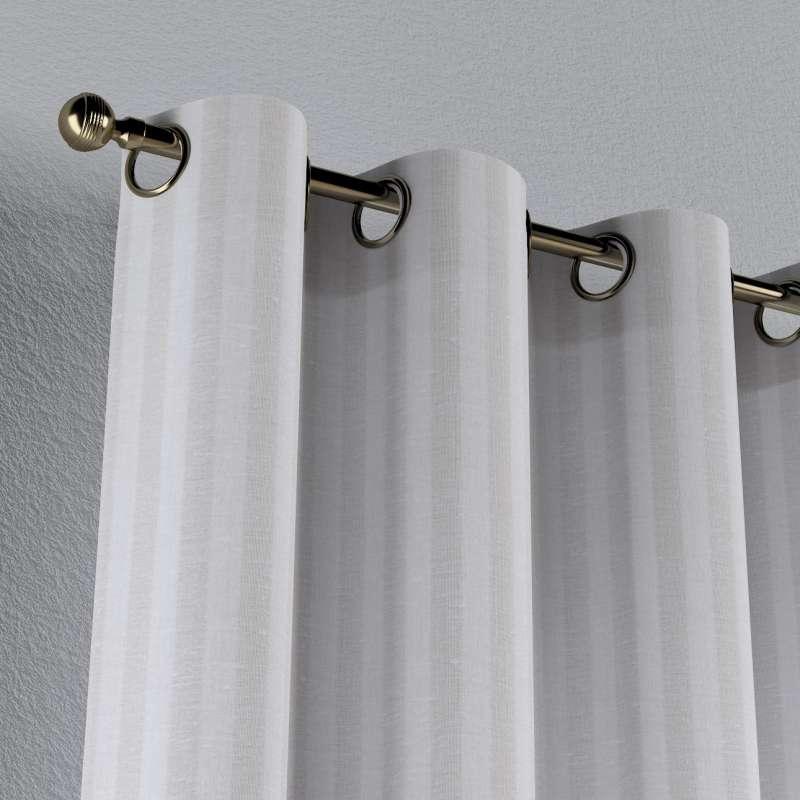 Zasłona na kółkach 1 szt. w kolekcji Linen, tkanina: 392-03