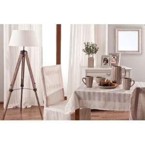 Ringlis függöny 130 x 260 cm a kollekcióból Lakástextil Leinen, Dekoranyag: 392-03