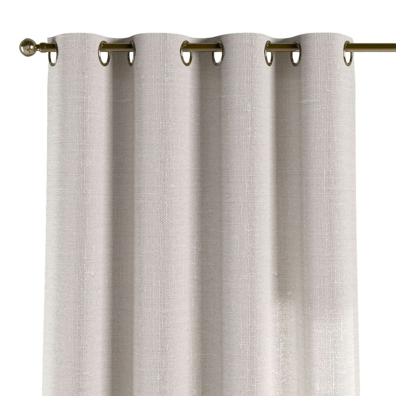 Eyelet curtains 130 x 260 cm (51 x 102 inch) in collection Linen , fabric: 392-04