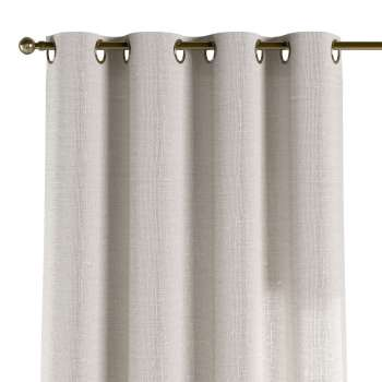 Gardin med maljer 1 stk. 130 × 260 cm fra kolleksjonen Linen, Stoffets bredde: 392-04