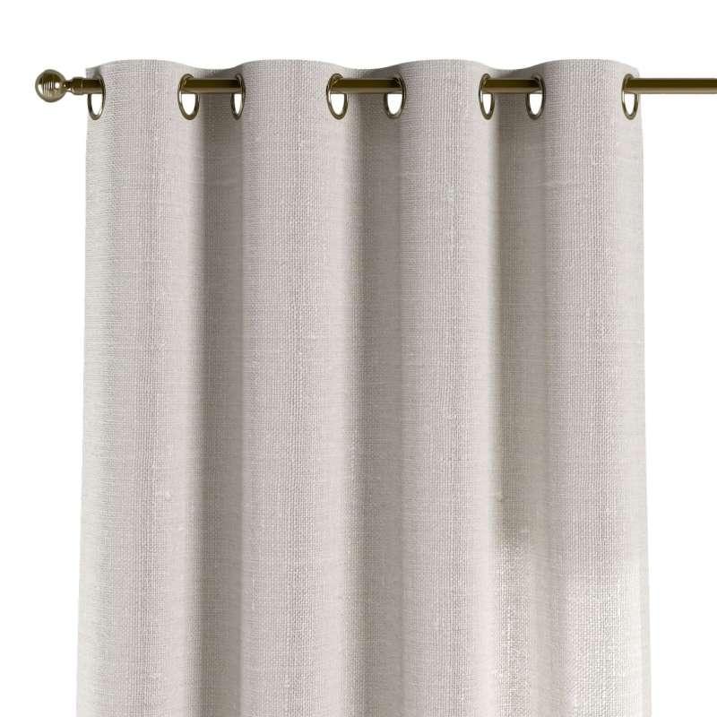Zasłona na kółkach 1 szt. w kolekcji Linen, tkanina: 392-04