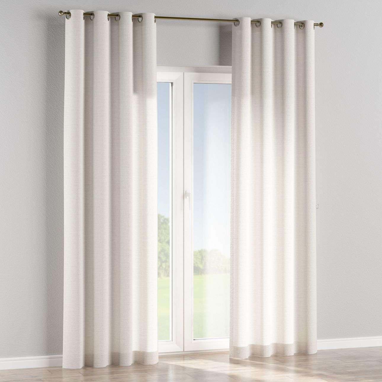 Ringlis függöny 130 x 260 cm a kollekcióból Lakástextil Leinen, Dekoranyag: 392-04