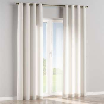 Eyelet curtains in collection Linen, fabric: 392-04