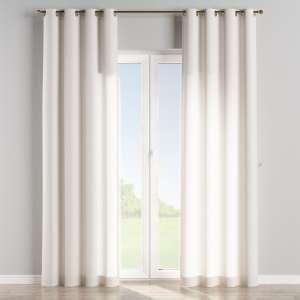 Zasłona na kółkach 1 szt. 1szt 130x260 cm w kolekcji Linen, tkanina: 392-04