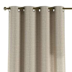 Žiedinio klostavimo užuolaidos 130 x 260 cm (plotis x ilgis) kolekcijoje Linen , audinys: 392-05