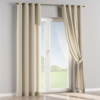 Eyelet curtains 130 x 260 cm (51 x 102 inch) in collection Linen, fabric: 392-05
