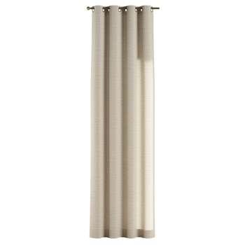 Zasłona na kółkach 1 szt. 1szt 130x260 cm w kolekcji Linen, tkanina: 392-05