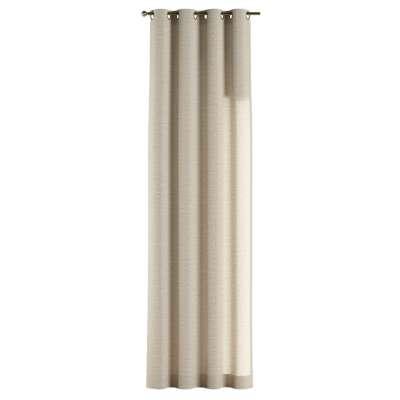 Závěs na kroužcích v kolekci Linen, látka: 392-05