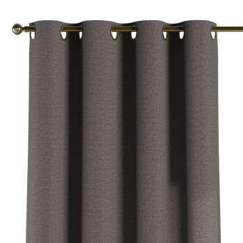 Gardin med öljetter 1 längd 130 x 260 cm i kollektionen Edinburgh , Tyg: 115-77