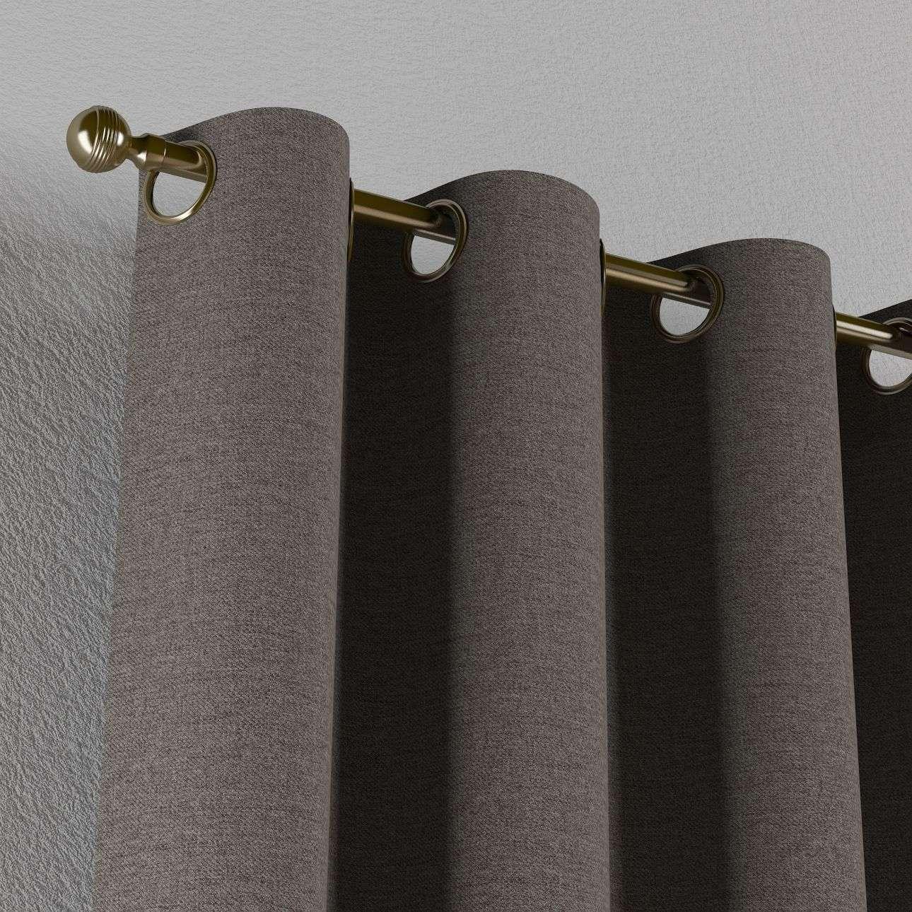 Žiedinio klostavimo užuolaidos 130 x 260 cm (plotis x ilgis) kolekcijoje Edinburgh , audinys: 115-77