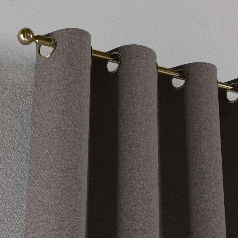 Gardin med öljetter 1 längd i kollektionen Edinburgh, Tyg: 115-77
