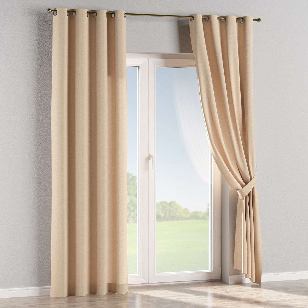Eyelet curtains 130 x 260 cm (51 x 102 inch) in collection Edinburgh, fabric: 115-78