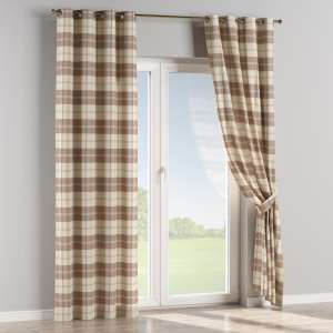 Eyelet curtains 130 x 260 cm (51 x 102 inch) in collection Edinburgh , fabric: 115-80