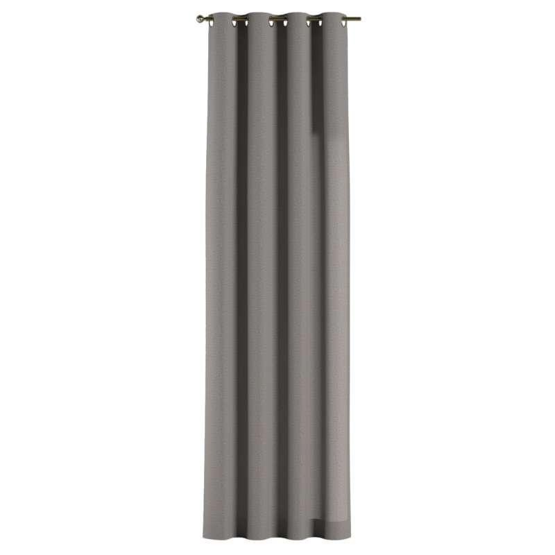Gardin med öljetter 1 längd i kollektionen Edinburgh, Tyg: 115-81