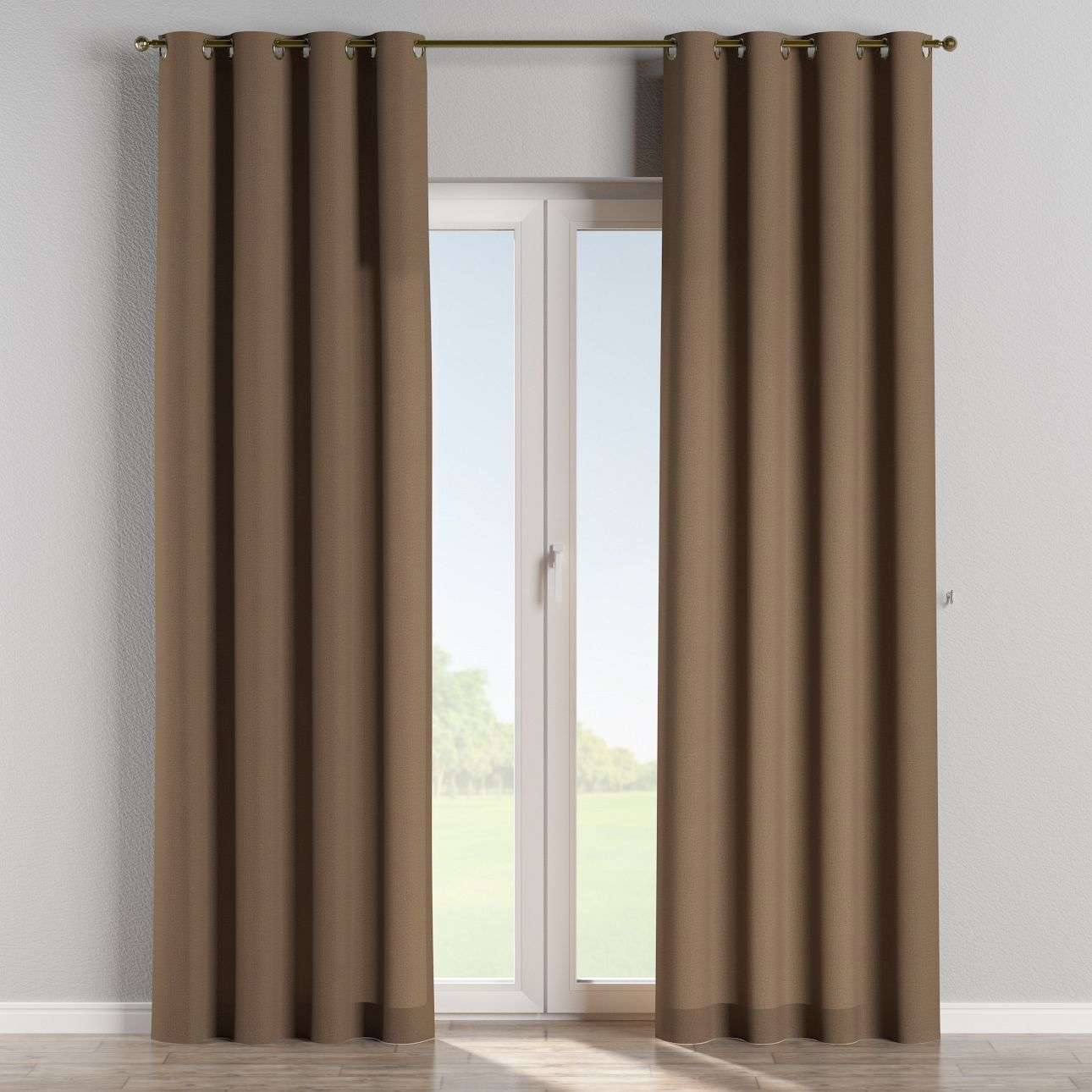 Eyelet curtains 130 x 260 cm (51 x 102 inch) in collection Edinburgh, fabric: 115-85