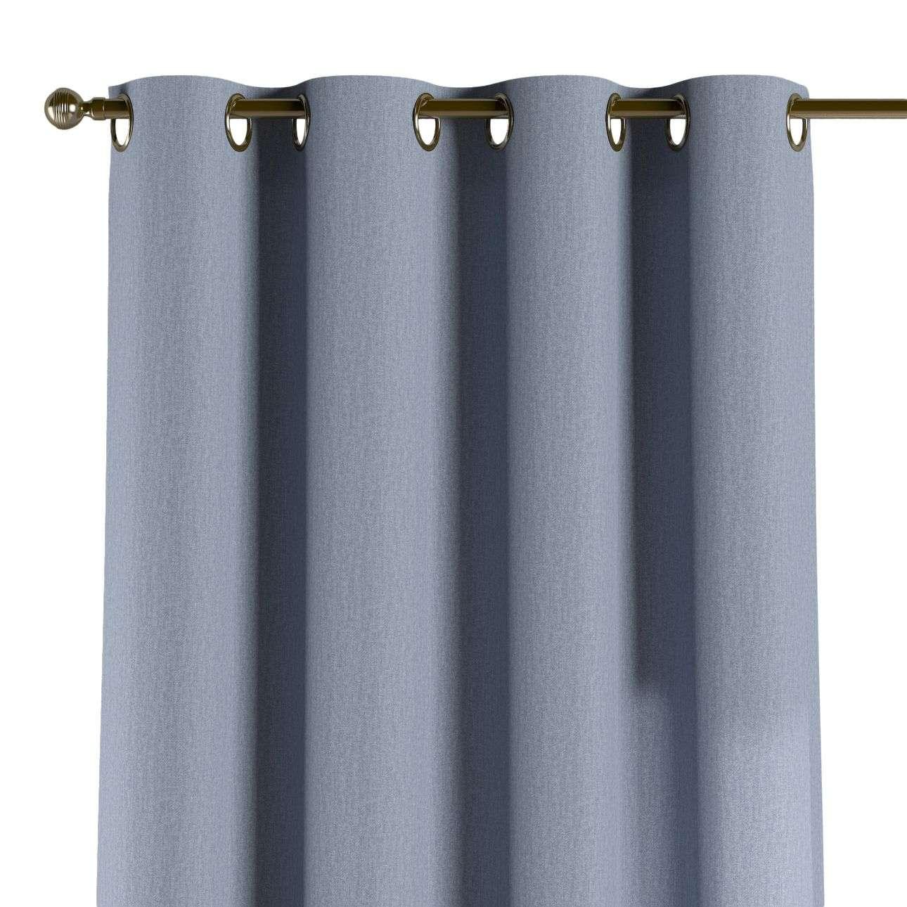 Žiedinio klostavimo užuolaidos 130 x 260 cm (plotis x ilgis) kolekcijoje Chenille, audinys: 702-13