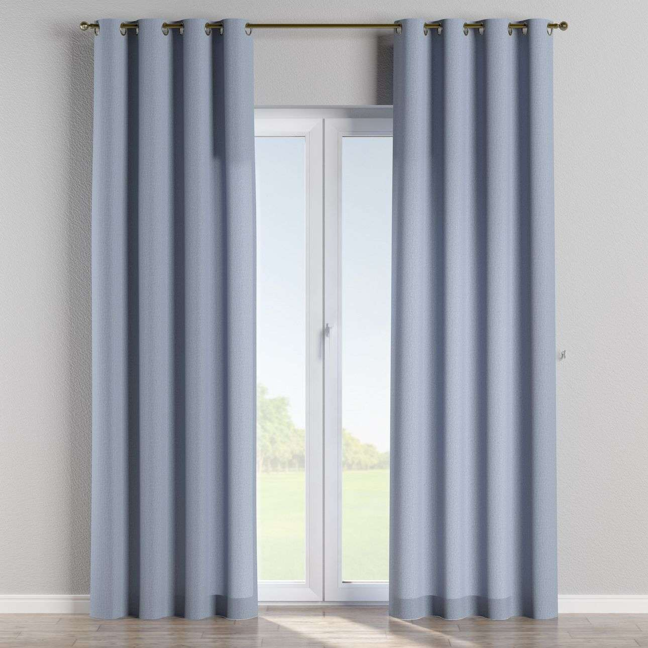 Eyelet curtains in collection Chenille, fabric: 702-13