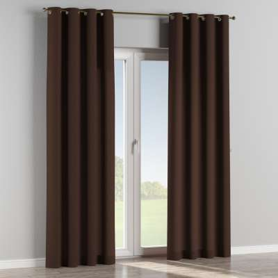 Eyelet curtains in collection Chenille, fabric: 702-18