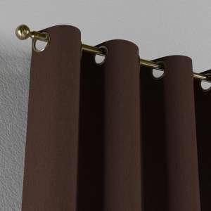 Gardin med öljetter 1 längd 130 x 260 cm i kollektionen Chenille , Tyg: 702-18