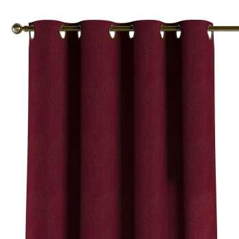 Gordijn met ringen van de collectie Chenille, Stof: 702-19