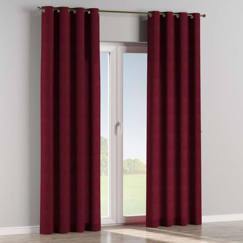 Eyelet curtain in collection Chenille, fabric: 702-19