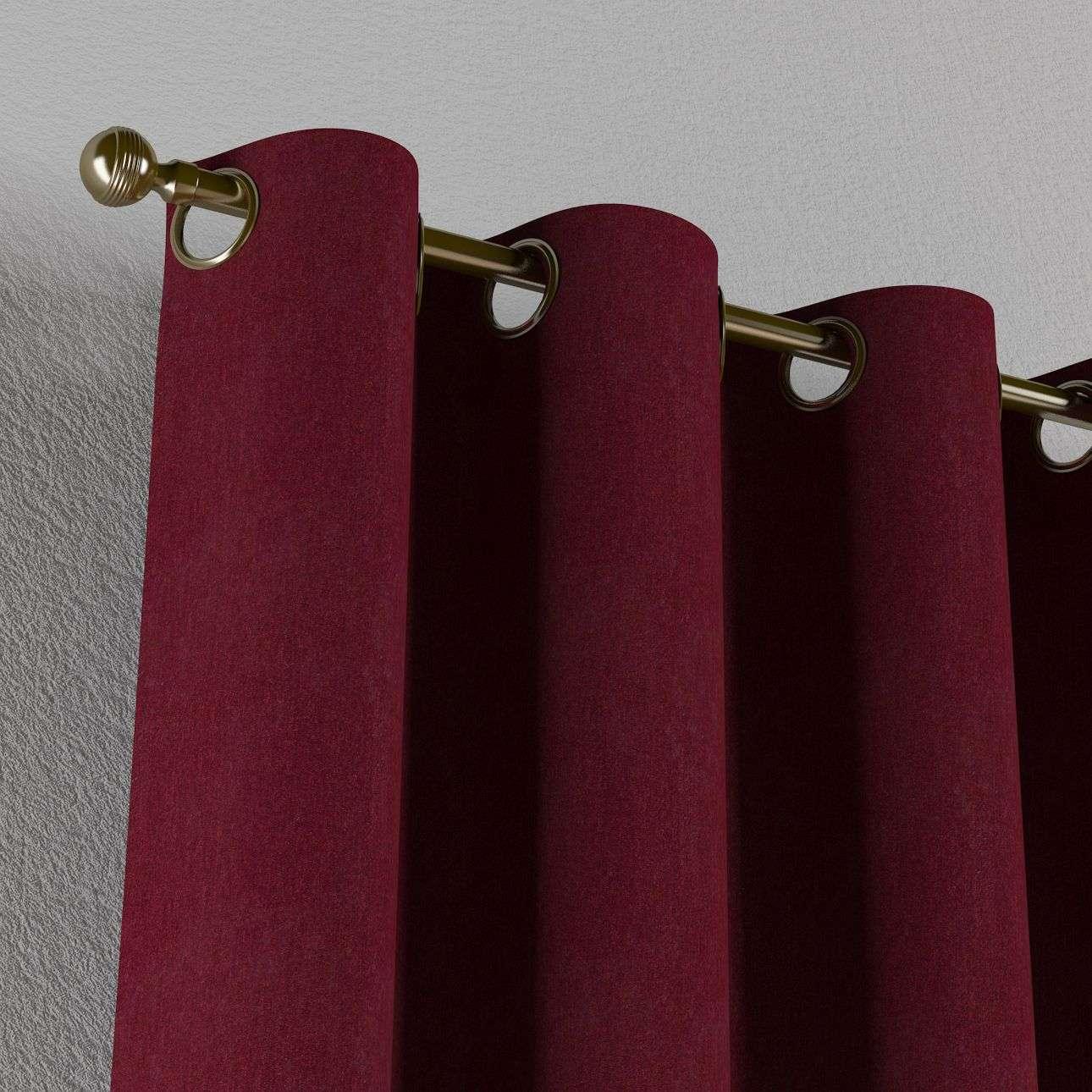 Žiedinio klostavimo užuolaidos 130 x 260 cm (plotis x ilgis) kolekcijoje Chenille, audinys: 702-19