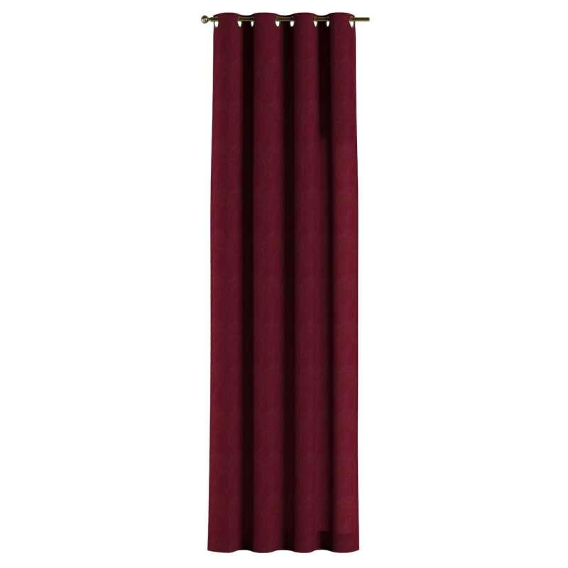Záves s kolieskami V kolekcii Chenille, tkanina: 702-19
