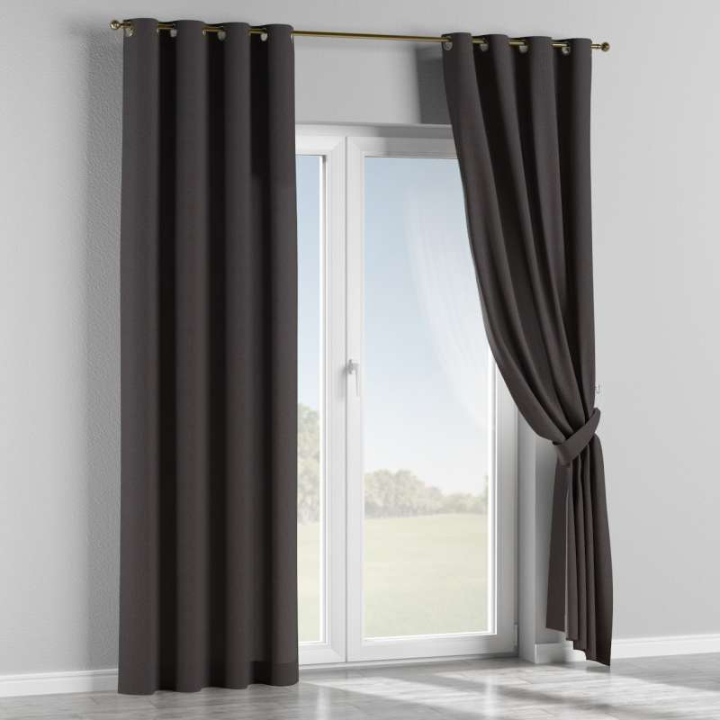 Eyelet curtain in collection Chenille, fabric: 702-20